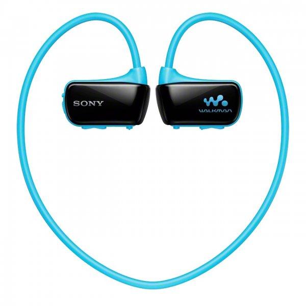 Sony Walkman NWZ-W273S 4GB blau - wasserdichter, kabelloser Sport-Kopfhörer mit integriertem MP3-Player für 43,13 € inkl. Vsk.