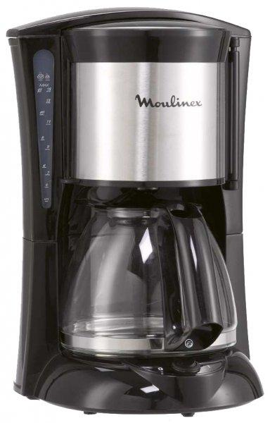 Moulinex Glas-Kaffeemaschine Subito Edelstahl (FG1105) für 18,45 Euro @Top & Preiswert