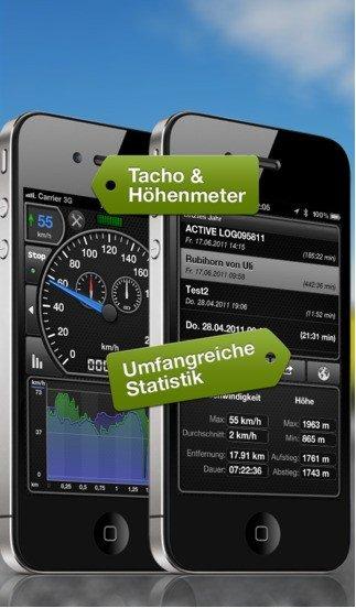 [ iOS ] GPSSpeed HD gratis statt 1,79€ und Weathercube ebenfalls gratis statt 3,59€