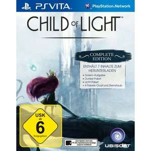 Child Of Light - Complete Edition (PSV) für 14,99€ im Müller Onlineshop