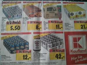 [Lokal Berlin] Kaufland Dolce Gusto 3,50€ je Packung, Jim Beam Whiskey & Cola 1,75€ je Dose + weitere Angebote