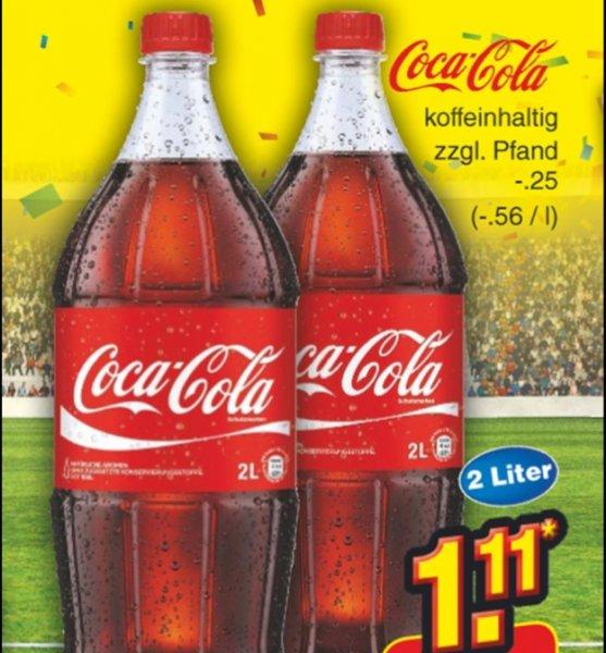"""Coca Cola bei Netto """"Sieger-Party"""" für -, 56 Cent / Liter"""
