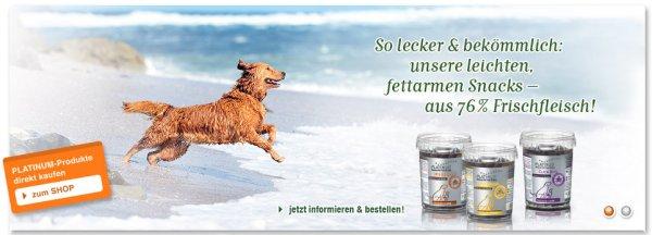 Premium Hundefutter von Platinum