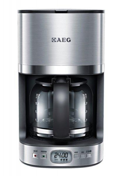 AEG KF 7500 Kaffeeautomat / programmierbarer Timer / automatische Abschaltung / Edelstahl Gehäuse