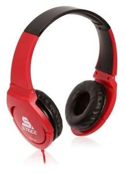 Pioneer SE-MJ721I-R Stereo Headphones - Red