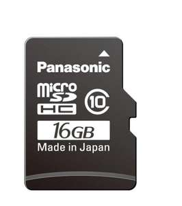 Ebay WOW Panasonic GOLD MicroSDHC UHS-1 inkl. SD-Adapter 16Gb