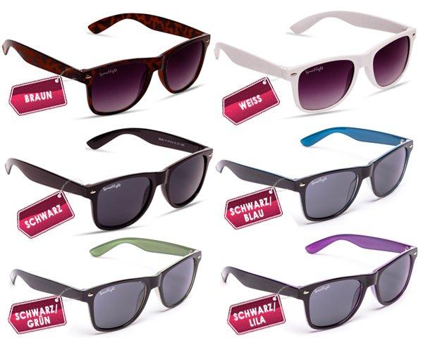 Wayfarer Sonnenbrillen für 8,90€ @ dayfly