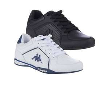 KAPPA Sneaker Udine in schwarz oder weiß für 23,99€ @ MP OHA