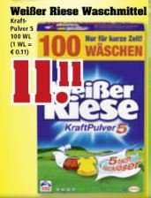 11,11€ Weißer Riese 100 WL @trinkgut (1 WL = 0,11€)