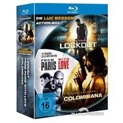 [Media-dealer.de] Live Shopping: Die Luc Besson Action-Box [Blu-ray] für 11€ + VSK
