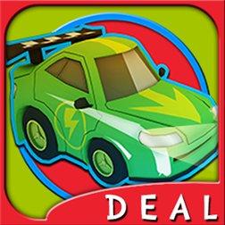 (Windows Phone) OverVolt: crazy slot cars Autorennspiel Premiumversion GRATIS
