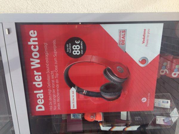 Beats Solo HD für 88€ @Vodafone Shop Schwerte [ggf. Deutschlandweit]