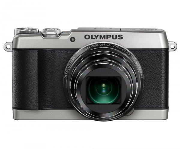 Olympus SH-1 Digitalkamera (16 Megapixel CMOS-Sensor, 24-fach opt. Zoom, 5-Achsen Bildstabilisator, WiFi, Full-HD Video) silber für 319,39€ @Amazon.es