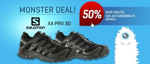 -50% Salomon XA PRO 3D - statt 124,95€ nun für 62,48€
