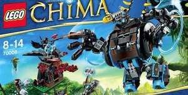 Lego: Legends of Chima 70008 Gorzans Gorilla Roboter