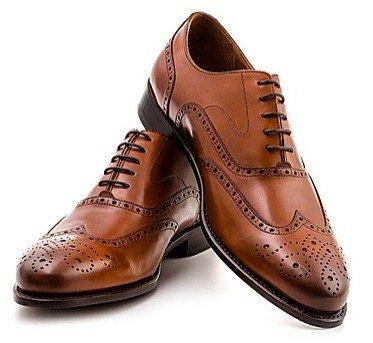 Prime Shoes Business Schnürschuhe Oxford Kalbsleder cognac, dunkelbraun oder schwarz für 149,00€ statt 210,00€ bei b4f