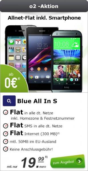 Allnetflat inkl. Smartphone
