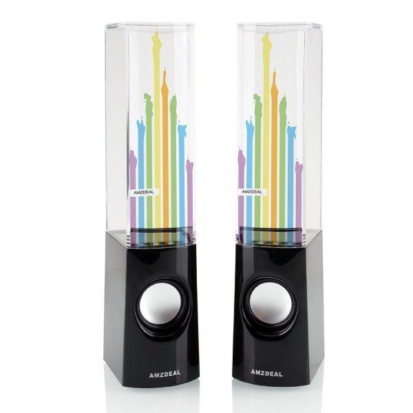 [Amazon]Dancing water Lautsprecher mit für nur 13,99€ inkl. Versand