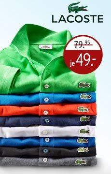 [Karstadt] Lacoste Polo Shirts für 41,65€ inkl. Versand online/offline