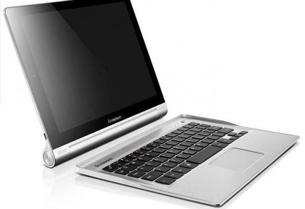 Lenovo Yoga Tablet 10 Zoll mit 3G und abnehmbarer Tastatur Quadcore @comtech 268,99 €