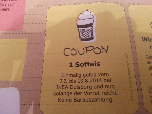Gratis Softeis bei IKEA in Duisburg