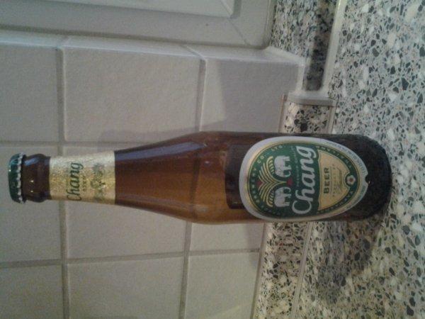 chang Bier beim Lidl für Thailandfans nur 69 cent prost