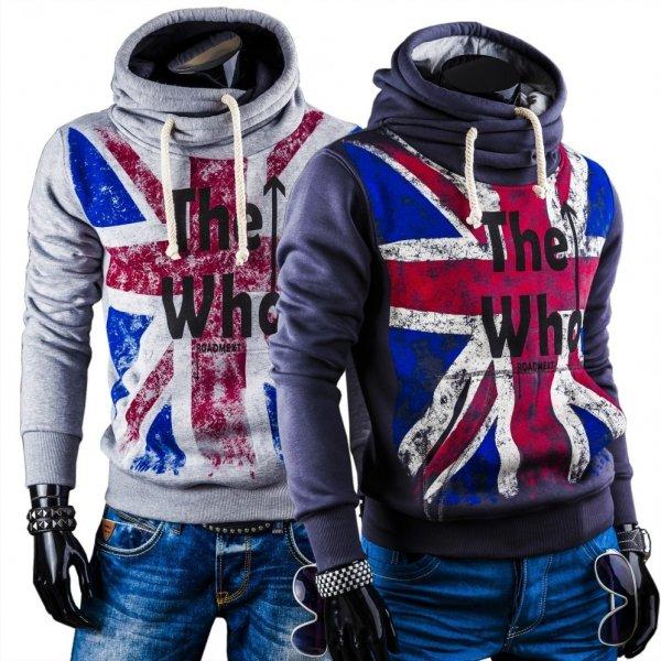RONI Herren Hoodie UK-Style 6 Farben S-2XL 100% Baumwollte, United Kingdom-Style, keine VSK