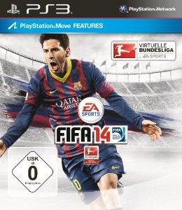 FIFA 14 für 24,97€ @ Amazon ( für PS3,PS Vita,Xbox360,Nintendo Wii oder Nintendo 3ds)