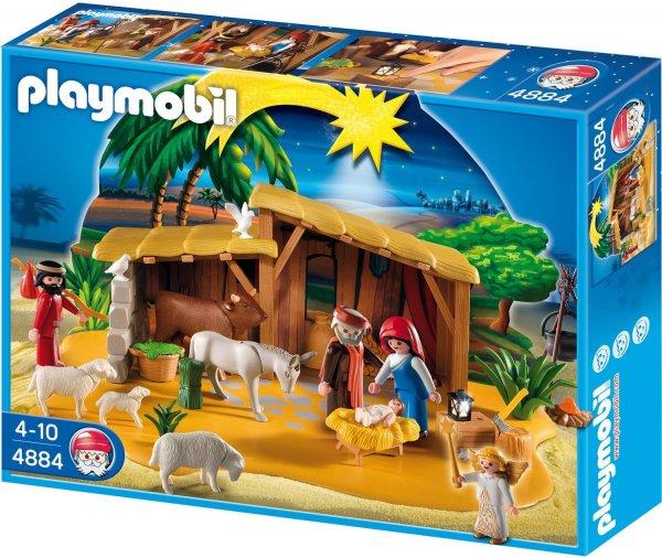 Playmobil™ - Große Krippe mit Stall (4884) ab €11,40 [@Karstadt.de]