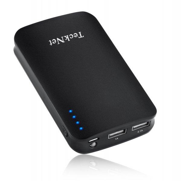 TeckNet® POWER-BANK iEP390 9000mAh Dual 5V/3.1A USB Externer Akku Powerbank Ladegerät für 21,97€