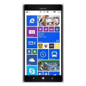 Nokia Lumia 1520 Smartphone (15,2 cm (6,0 Zoll) IPS LCD FULL HD, 20 Megapixel Kamera, 2,2 GHz Quad-Core Prozessor, Windows Phone 8) weiß