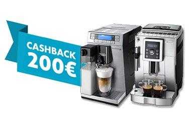 DeLonghi ECAM 23.426 und ETAM 36.366.MB Kaffeevollautomaten 200 € Chashback