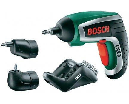 Bosch IXO IV Akku-Schrauber mit 2 Aufsätzen für 44€ @smdv