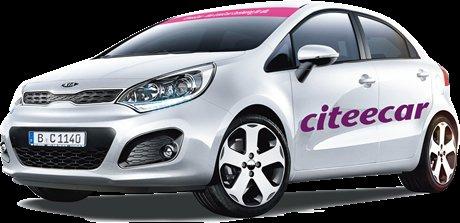 CiteeCar 20 € Cashback Qipu + 9 € GS für Anmeldegebühr
