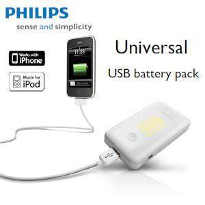 ibood: Philips DLM2262 Universal USB Akku-Pack 3000 mAh 30,90 EUR