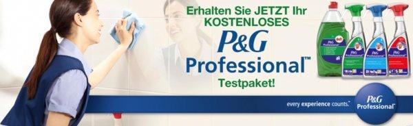 Kostenloses Testpaket von P&G Professional