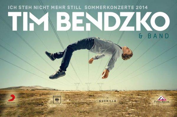 [Groupon] 1 Stehplatz-Karte für Tim Bendzko & Band am Sa., 26.07.2014 im WARSTEINER HockeyPark in Mönchengladbach für 19,90 € statt 36 €