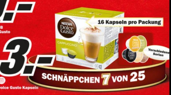 Nescafé dolce Gusto Kapseln Media Markt HH