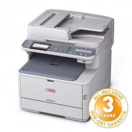 OKI MC562dnw - Multifunktionsfarbdrucker mit Duplex, WLan, AirPrint, ... - Dank Cashback für 289€