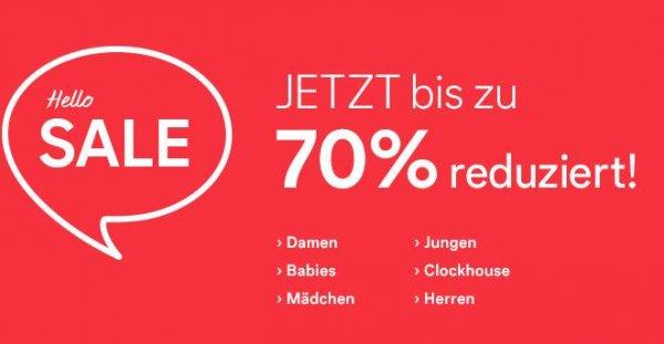 70% Hello Sale bei C&A