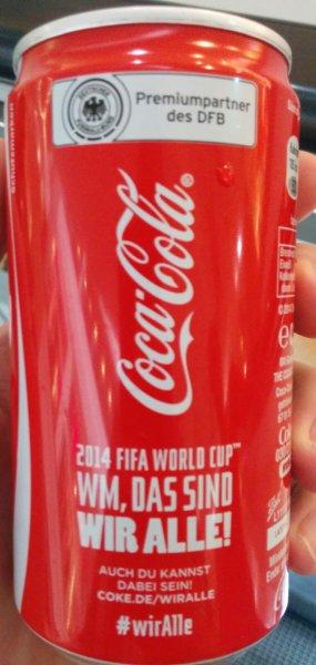 Gratis Dose Coca Cola im Globus Koblenz