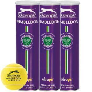 Tennis Bälle 4er Dose (Slazenger Wimbledon Ultra Vis Ball - Limited Edition) inkl. Versandkosten @TheHut [65% Ersparnis]