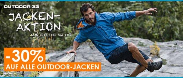 Outdoor Jacken Sale bei outdoor33