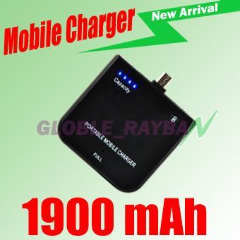 externer MicroUSB Akku 1900mAh ideal für Handy & Co ca. 7€