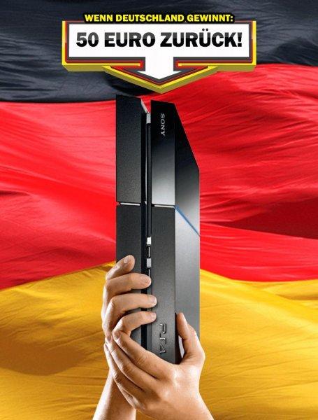 PS4 bei MM Kaufen und 50€ zurück wenn Deutschland Weltmeister wird