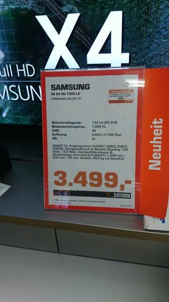 Köln Saturn am Hansaring Samsung UE65HU7590 LX