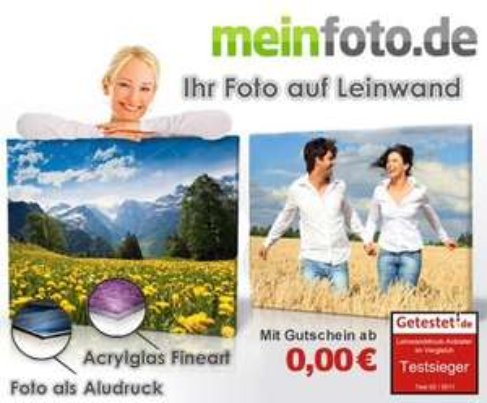 25 € statt 50 € meinfoto.de Gutschein bei DailyDeal