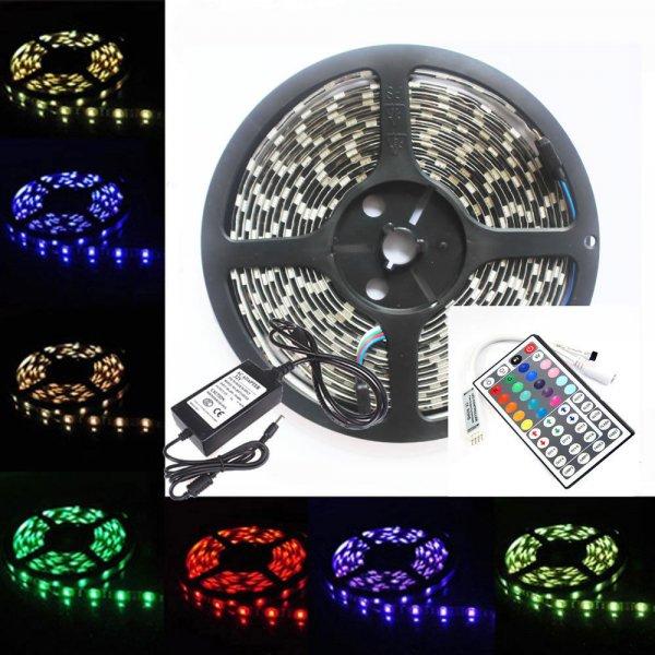 5M RGB 5050 LED Strip *Komplett Set bei eBay