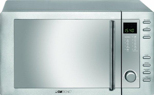 Clatronic MWG 775 H Mikrowelle mit Grill und Heißluft 23 Liter für 64,29€!