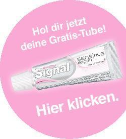 Gratis 16ml Signal-Zahnpasta
